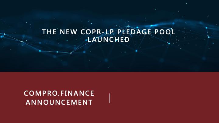 ComPro.Finance announcement 04/01 Mmexpo10