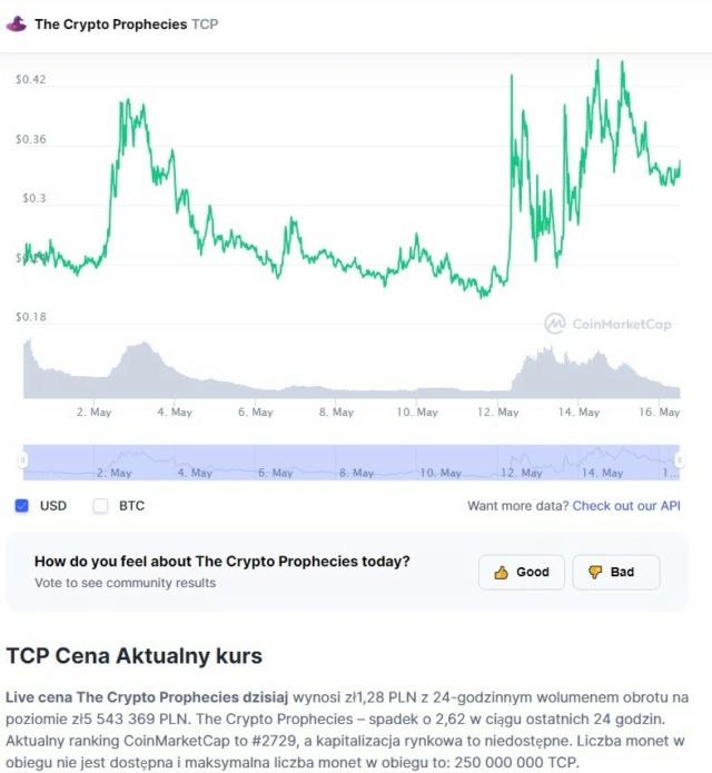 Darmowy token TCP o wartości 5 $ za rejestrację plus tyle samo za polecenie The_cr10