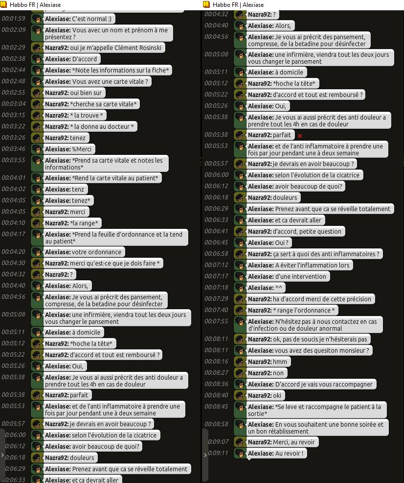 [C.H.U] Rapports d'Actions RP d'Alexiase Clzom_10