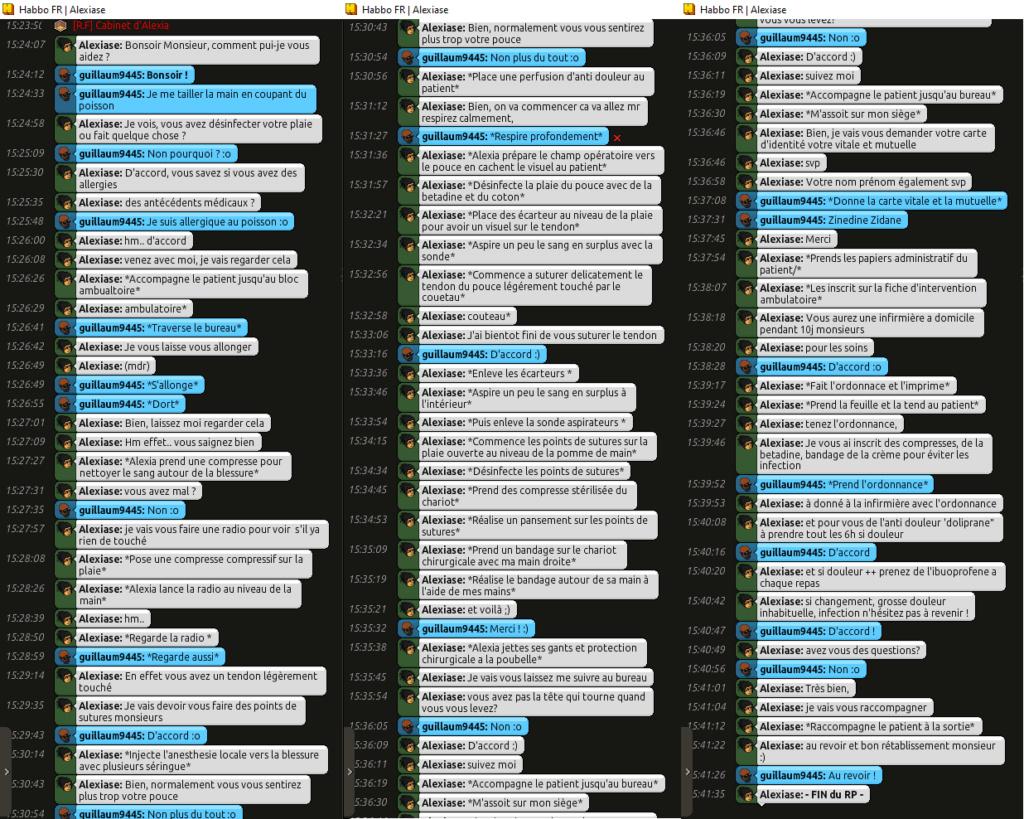 [C.H.U] Rapports d'Actions RP d'Alexiase - Page 2 Guiugu10