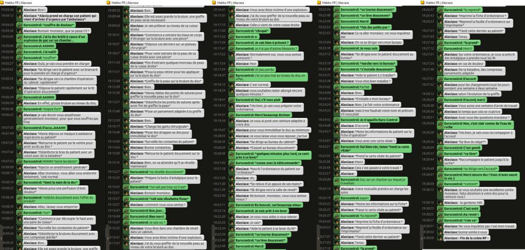 [C.H.U] Rapports d'Actions RP d'Alexiase Rp_eur10