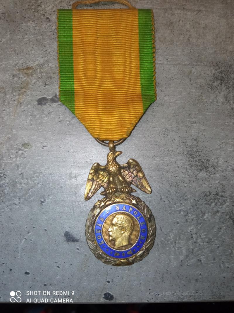 médaille louis napoléon 16329423
