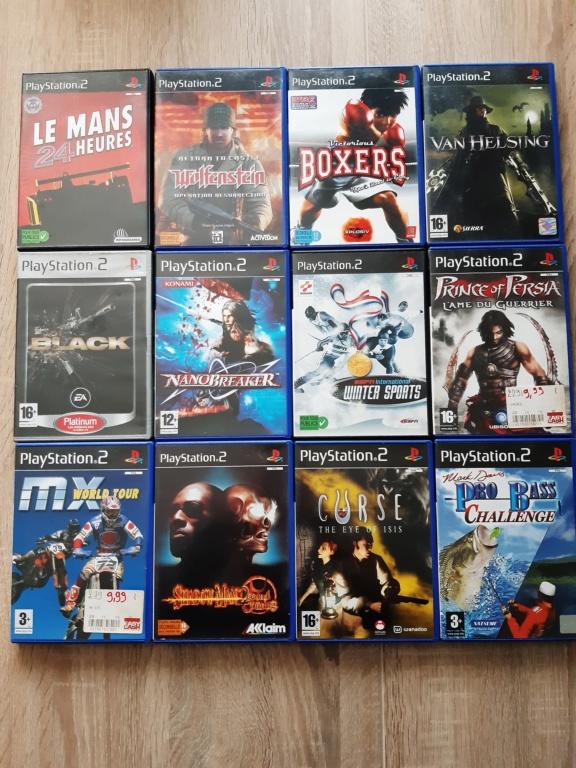 [Est] Divers jeux PS2 20210511