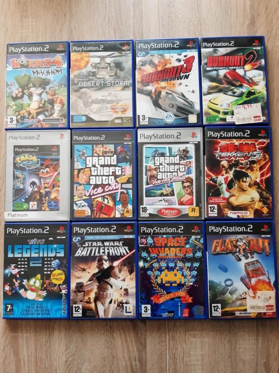 [Est] Divers jeux PS2 20210512