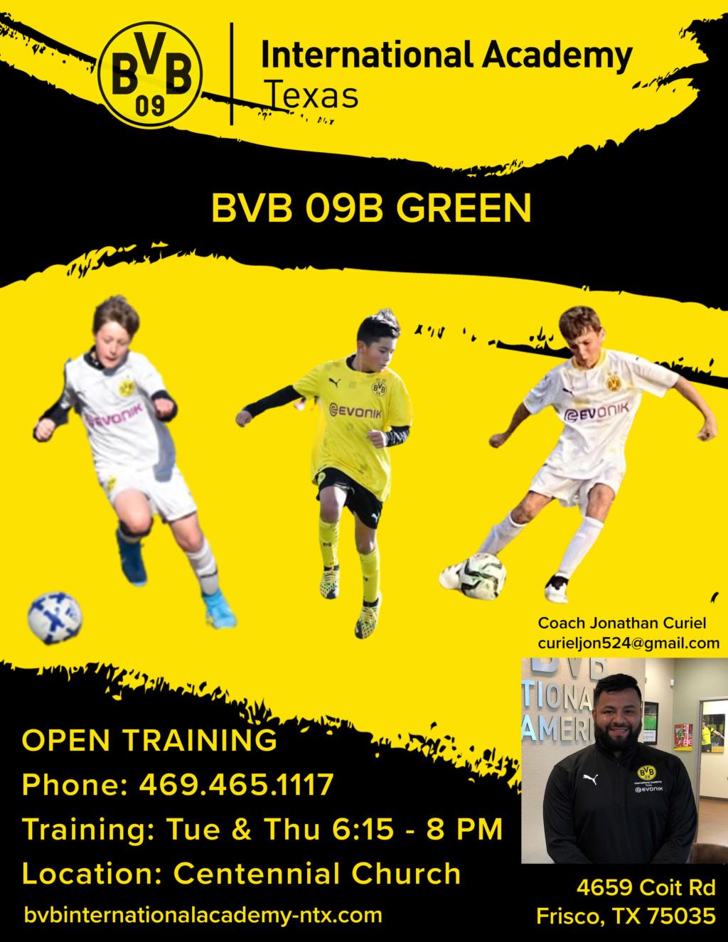 BVB 09B Green - Open Tryouts  Bvb10