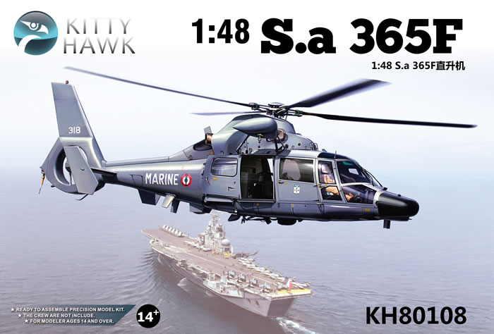Nouveau: Dauphin 1/48 kitty hawk Kh801010