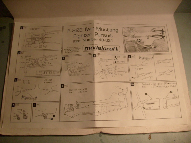 [Modelcraft] F 82 E Twin mustang au 48 eme S7303613