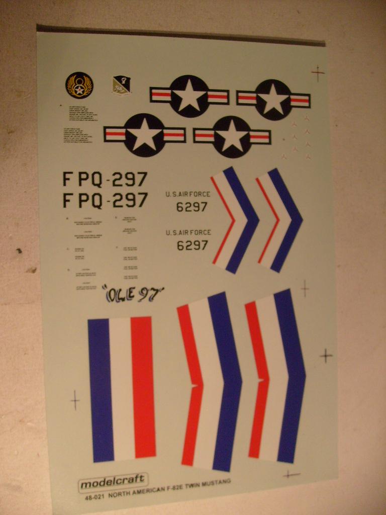 [Modelcraft] F 82 E Twin mustang au 48 eme S7303622