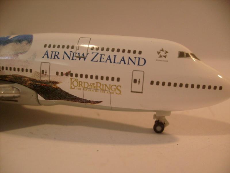 Avions Air New Zeland sur le thème Terre du milieu, Herpa S7304616