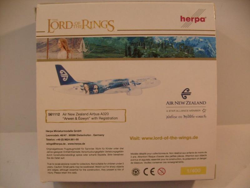 Avions Air New Zeland sur le thème Terre du milieu, Herpa S7304716
