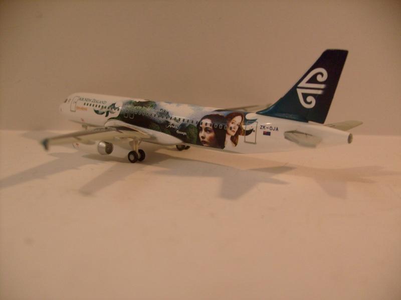 Avions Air New Zeland sur le thème Terre du milieu, Herpa S7304722