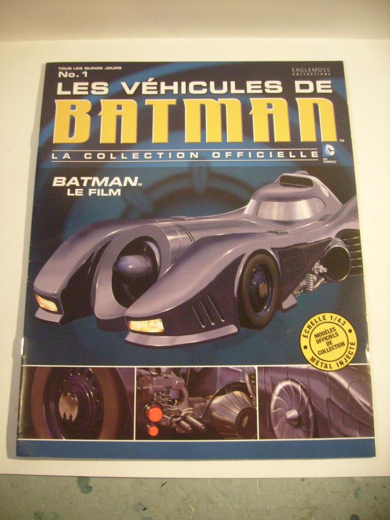 collection les véhicules de Batman, eaglemoss, Angleterre S7304844
