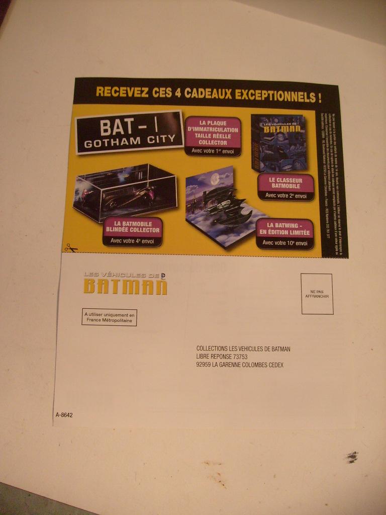 collection les véhicules de Batman, eaglemoss, Angleterre S7304851