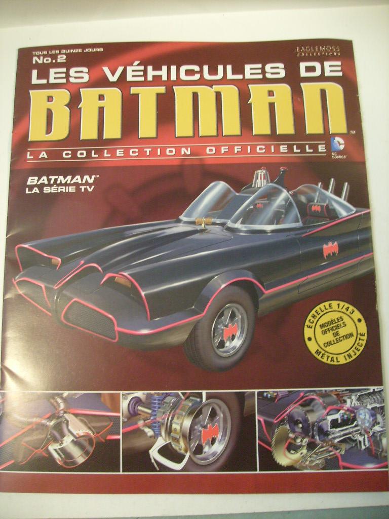 collection les véhicules de Batman, eaglemoss, Angleterre S7305023