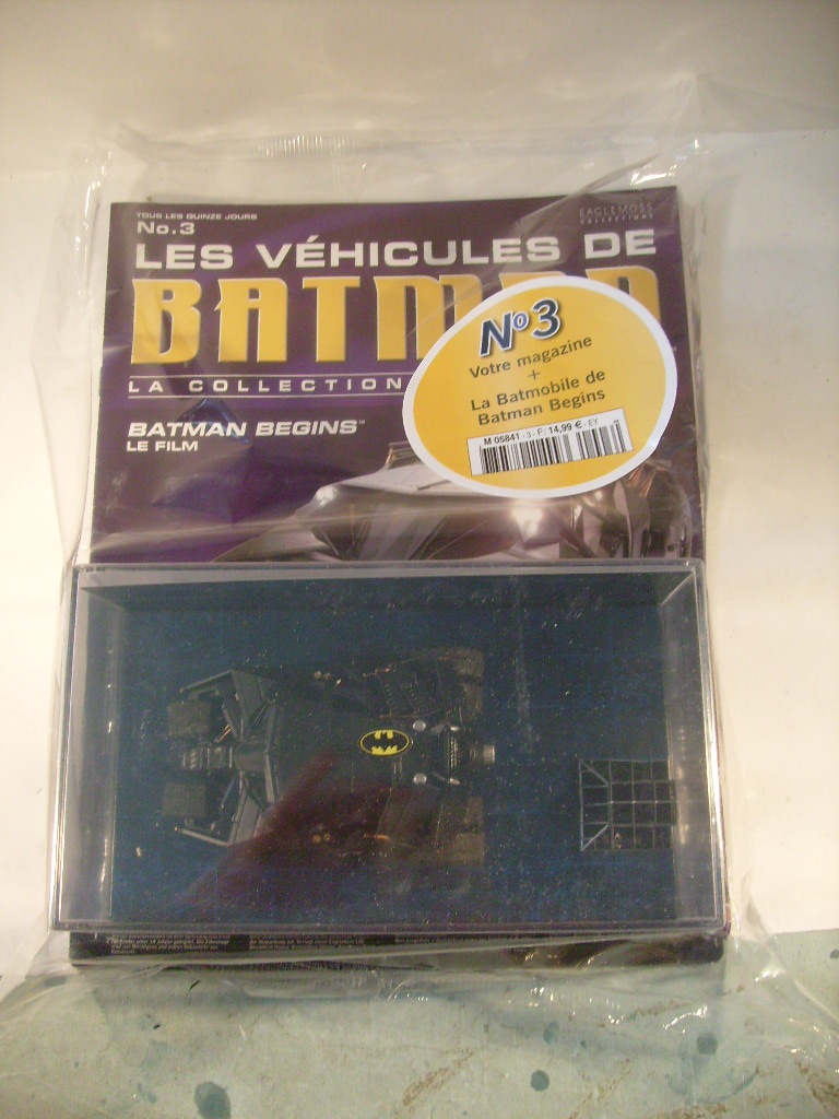 collection les véhicules de Batman, eaglemoss, Angleterre S7305078