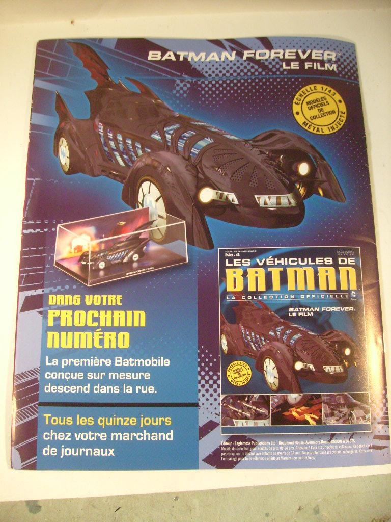 collection les véhicules de Batman, eaglemoss, Angleterre S7305085