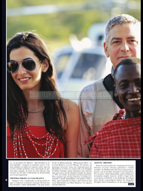 George Clooney and Amal on vacation in Tanzania and Seychelles - New Pics - Page 3 Hola_410