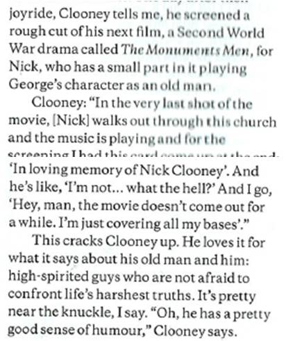 George Clooney, Richard Kind and the kitty litter prank - plus his other practical jokes - Page 2 Nick_c10