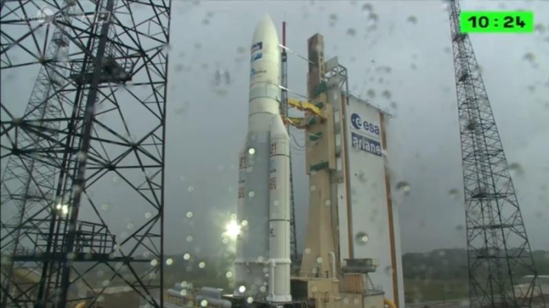 Lancement Ariane 5 ECA VA217 / ABS 2 & ATHENA FIDUS- 6 fevrier 2014 - Page 3 Geger10