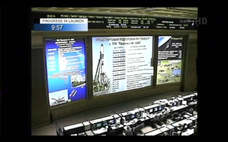 Lancement & fin de mission Progress M-22M  Rqeggr10