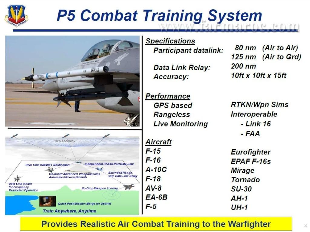 القوات الجوية االملكية المغربية تتعاقد على احدث نظام تدريب في العالم  P5 Combat Training System Farmar11