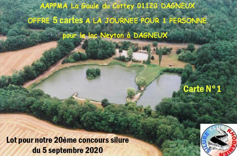AAPPMA La Gaule du Cottey Lac110