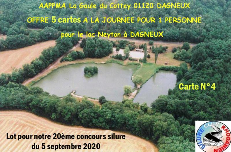 AAPPMA La Gaule du Cottey Lac410