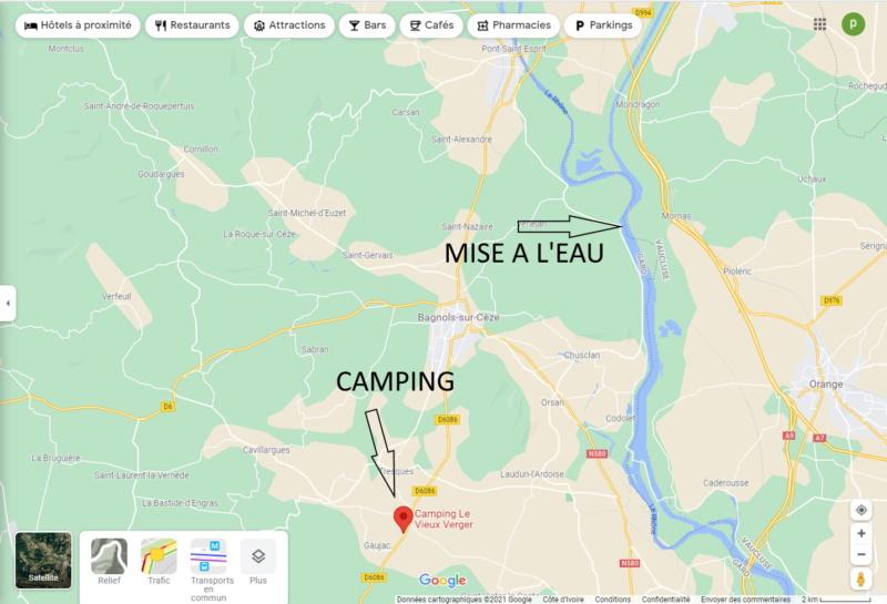 2 et 3 octobre 2021 : Week-end à Caderousse Plan10