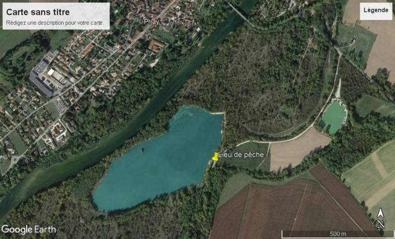18 janvier 2020 = Sortie pêche du brochet à Anse ( dept 69 )  Priay11