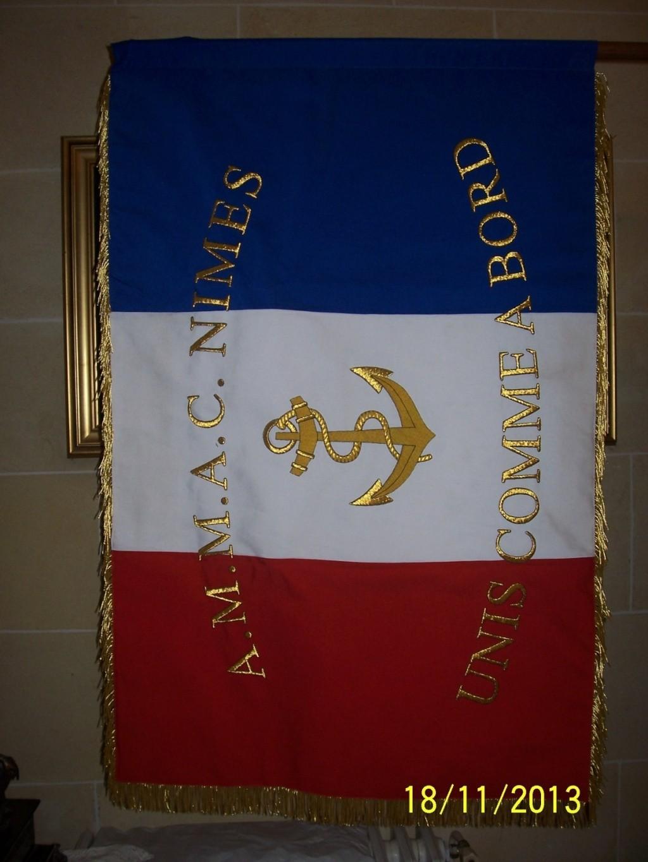 [ Associations anciens Marins ] AMMAC Nîmes-Costières - Page 5 Drapea12