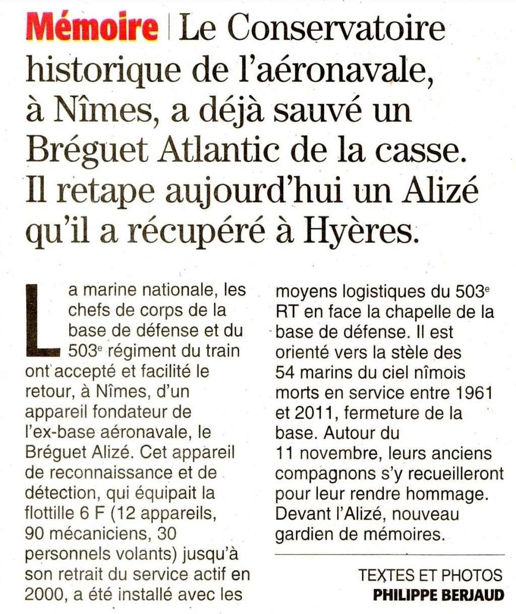 [Associations anciens marins] C.H.A.N.-Nîmes (Conservatoire Historique de l'Aéronavale-Nîmes) Imagec18