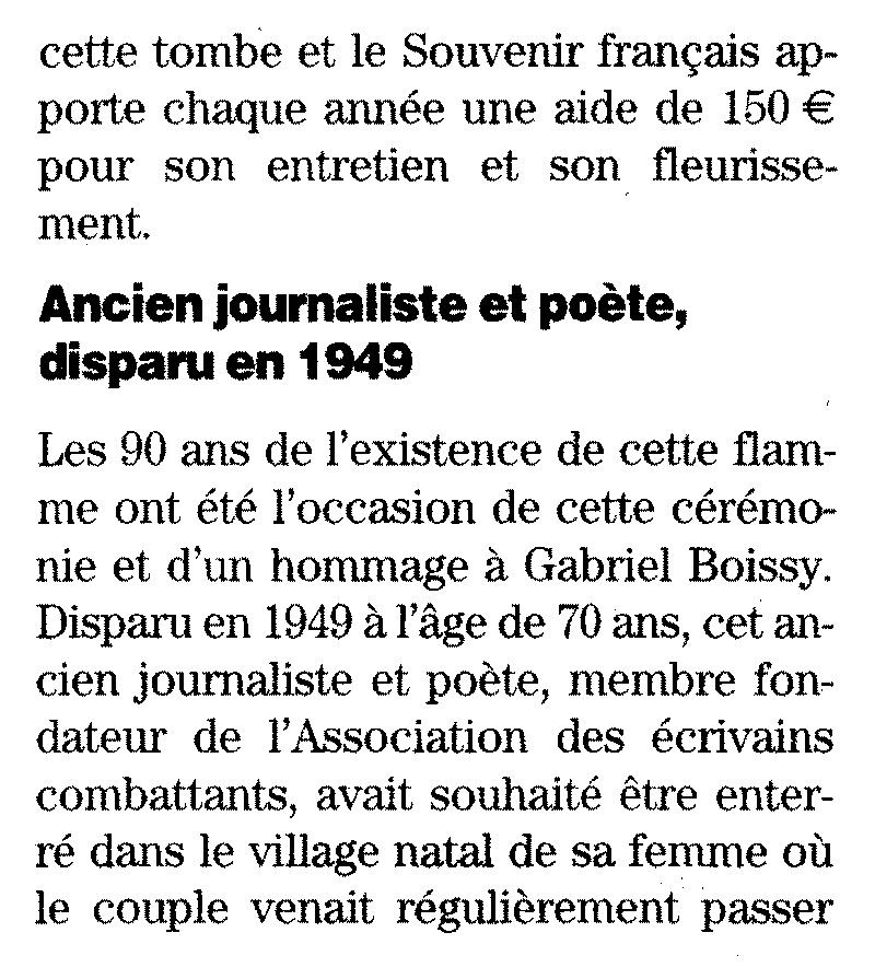 [Histoire et histoires] 90 ème anniversaire de la flamme de l'arc de triomphe Imagec30