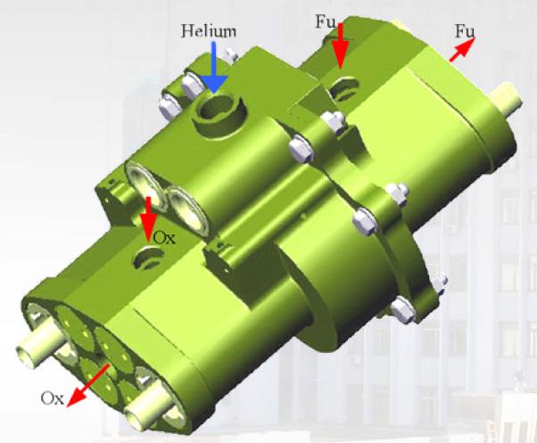 Utilisation de pompes pneumatiques pour les moteur-fusées Fig3-610