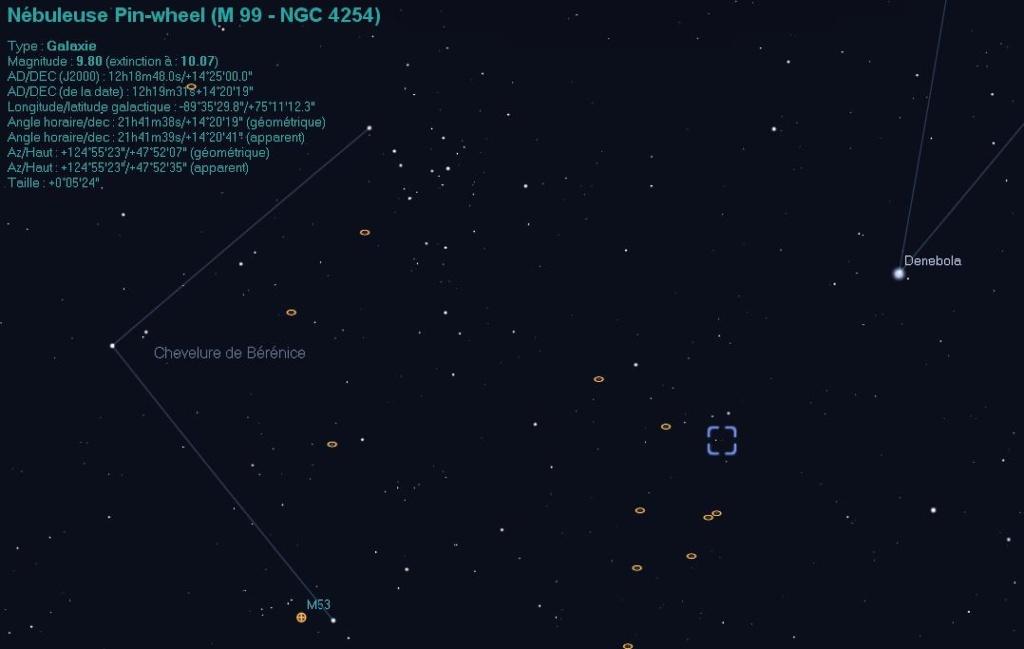 Supernova dans M99 (SN 2014L) M9910
