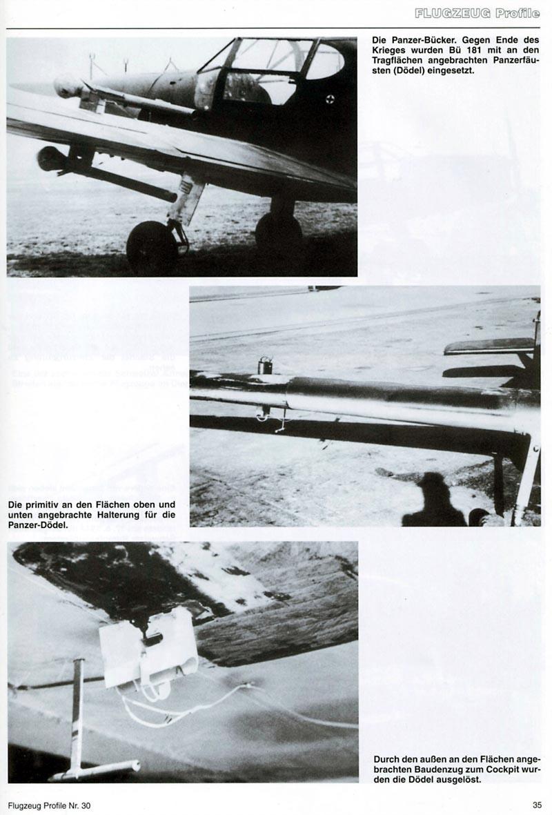 Bücker 181 mit Panzerfaust ... Bu-18110
