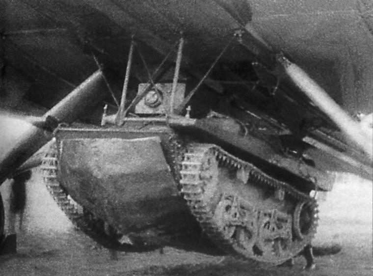 Projets de chars volants des années 1930 et 40 T37-tb10