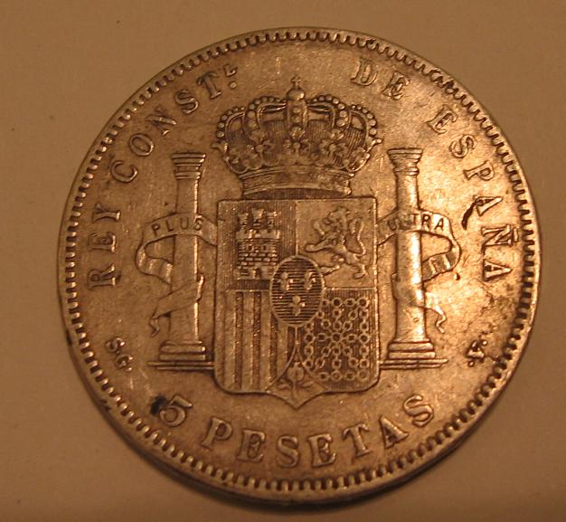 5 pesetas Alfonso XIII 110