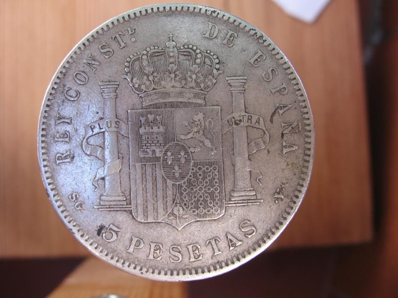 5 pesetas Alfonso XIII 112