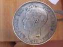5 pesetas Alfonso XIII 212