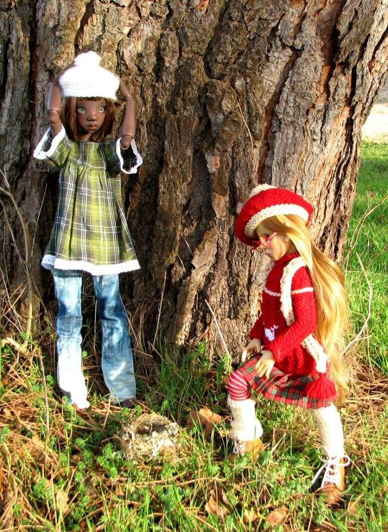 Kiki McFly et Layla au soleil^^ BAS P2 01212