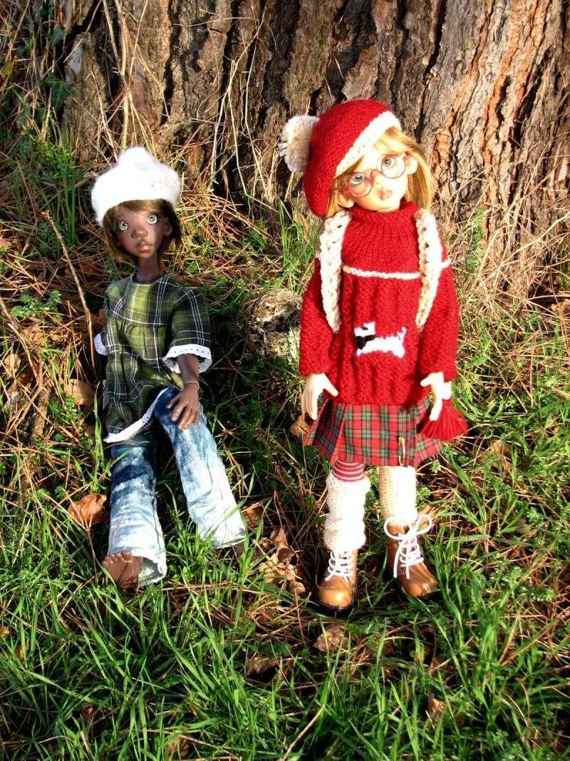 Kiki McFly et Layla au soleil^^ BAS P2 01714