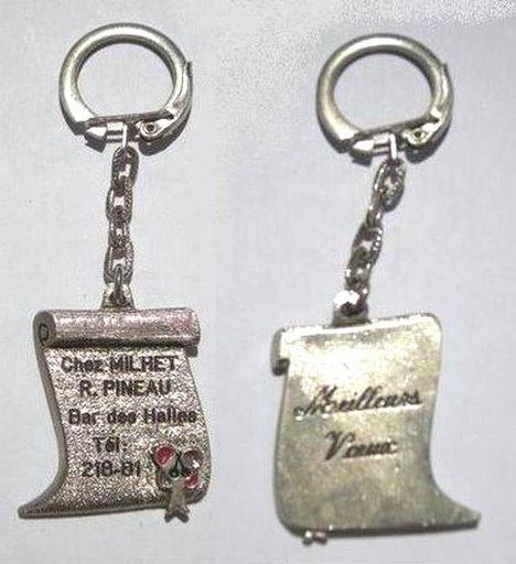 PORTE-CLEF  DE CASABLANCA COLLECTION JACQUES SALERNO Pc-ali14