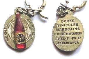 PORTE-CLEF  DE CASABLANCA COLLECTION JACQUES SALERNO Pc-dr-10