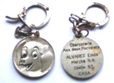 PORTE-CLEF  DE CASABLANCA COLLECTION JACQUES SALERNO Pc-dr-11