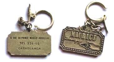 PORTE-CLEF  DE CASABLANCA COLLECTION JACQUES SALERNO Pc-dr-12