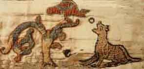 Besace d'après tapisserie de Bayeux 12100110