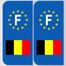Plaques d'immatriculation personnalisées en Belgique Belgiq10