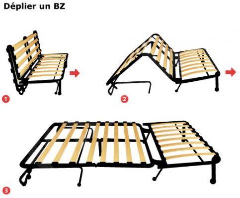 """Lit sur """"dinette"""" SB 720 Litbz10"""