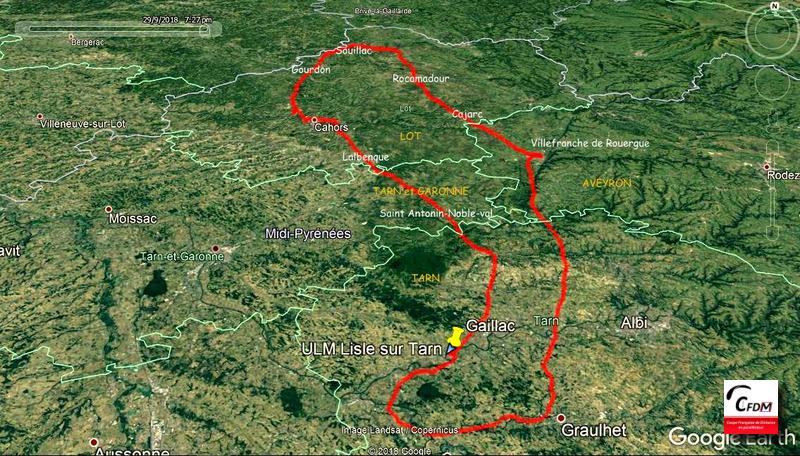3534 - 29/09/18 - Claude MONFORT - 298 km - homologué Image392