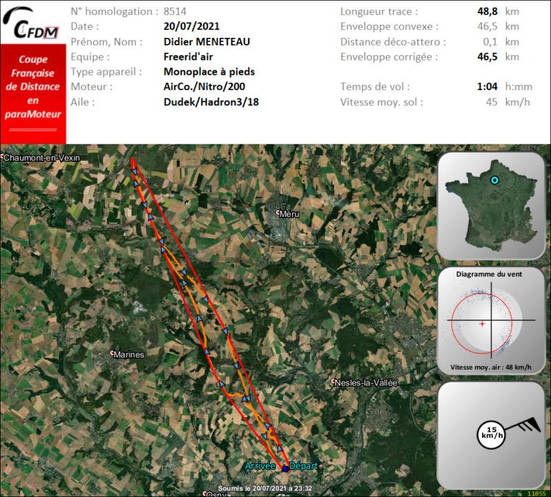 8514 - 20/07/21 - Didier MENETEAU - 46 km - homologué Img1007